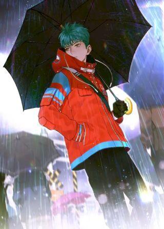 knight-in-rain